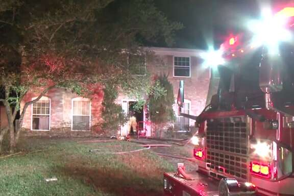 A northwest Houston home caught fire early Wednesday after officials said a cell phone charger ignited the bed on which it was sitting. Houston firefighters responded to a call for a house fire at Fallen Oaks Drive and Oak Trail Lane around 12 a.m. Wednesday.
