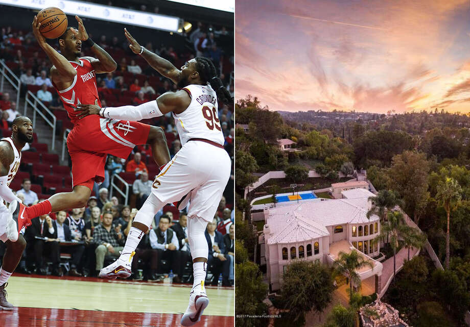Houston Rockets forward Trevor Ariza is selling his high-scoring home in Tarzana, Calif., for $3.5 million. The Mediterranean-style estate has 8,600 square feet of living space, including five bedrooms and eight baths. Take a photo tour ... Photo: Houston Chronicle ,  Realtor.com