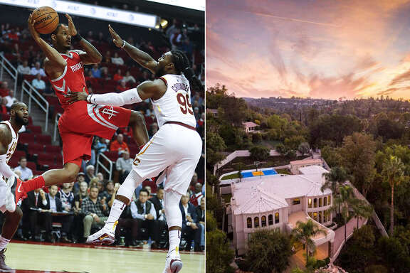 Houston Rockets forward Trevor Ariza is selling his high-scoring home in Tarzana, Calif., for $3.5 million. The Mediterranean-style estate has 8,600 square feet of living space, including five bedrooms and eight baths.