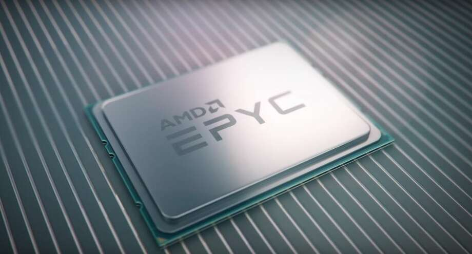 Advanced Micro Devices' Epyc server chip broke a world record. GlobalFoundries makes the chips for AMD. Photo: Rulison, Larry, AMD