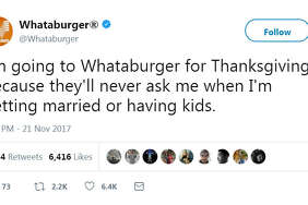 Whataburger wants to provide you a safe space to eat and unwind away from family this holiday season.   Swipe through to see what Houston restaurants are open on Thanksgiving Day.
