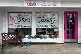 Bise Fashionable Finds in Ridgefield is closing after eight years in business.