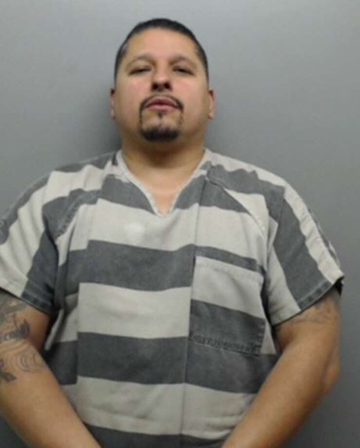 Sergio Barragan, 40, was served with a warrant charging him with harassment-repeated electronic communication. Photo: Webb County Sheriff's Office