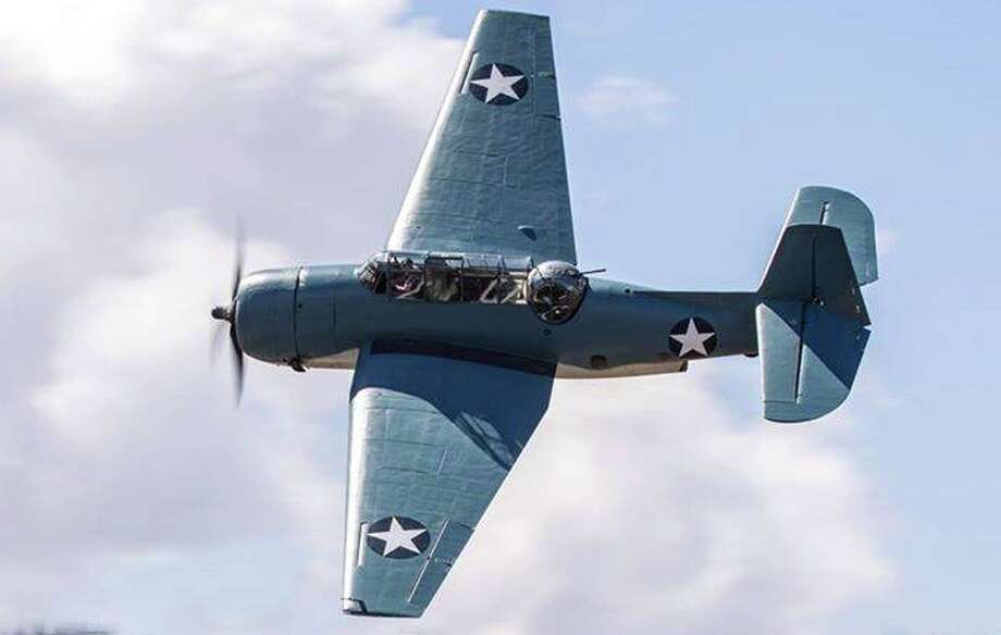 Pictured is the General Motors TBM-3E Avenger. Photo provided by the Lone Star Flight Museum.