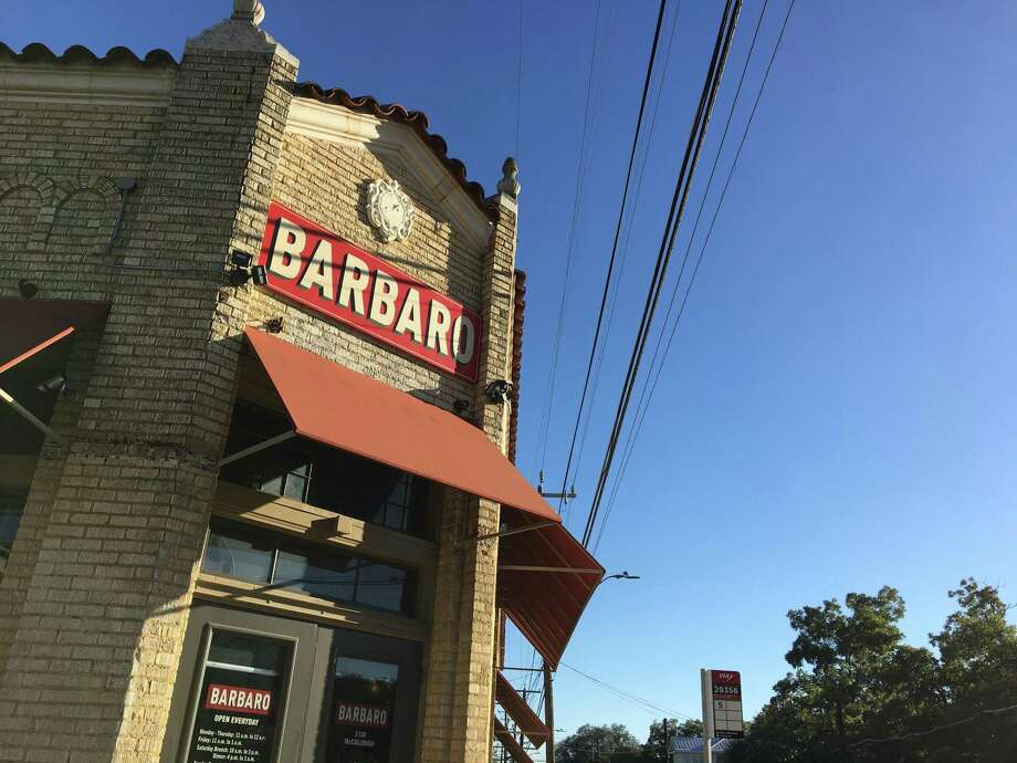 Popular San Antonio restaurant Barbaro reopened Thursday with limited dine-in service as the state works to reopen after the coronavirus pandemic shut down dining rooms. Photo: Mike Sutter /Staff File Photo