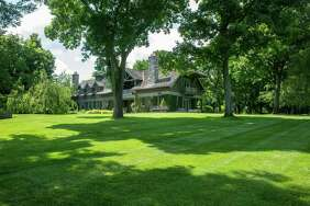 The largest estate in Greenwich, Conn., which spans 80 acres in the backcountry gated community Conyers Farm, sold for $21 million on Tuesday, Nov. 21, 2017.