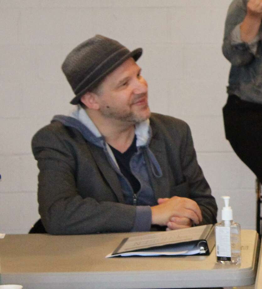Playwright Aaron Posner at Long Wharf. Photo: Courtesy Of Long Wharf Theatre