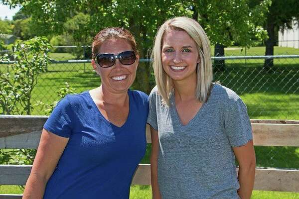 (From left) Michaella Walter, owner of NEST, and Caitlin Webber, NEST Director, pose for a photo last summer when NEST began operations. (Bill Diller/For the Tribune)