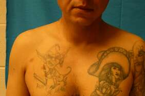 These tattoos helped Border Patrol agents verify that the undocumented immigrant was part of the Mexican Mafia.