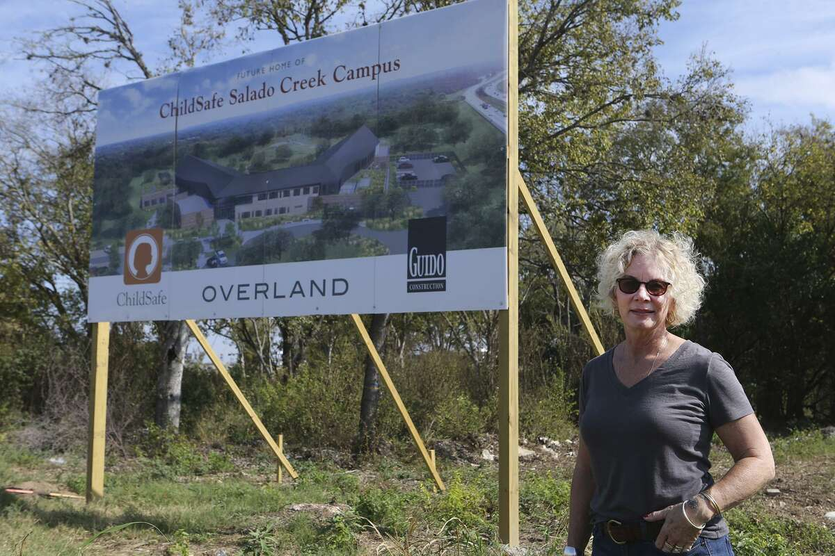 Kim Abernethy said the bucolic surroundings of the new ChildSafe child-advocacy center will help the healing process of survivors and assist the staff in coping with the sad and often heartbreaking nature of their work.