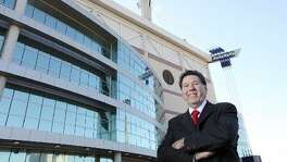 Portrait of San Antonio Sports President & CEO Russ Bookbinder Thursday Jan. 17, 2012 at the Alamodome.