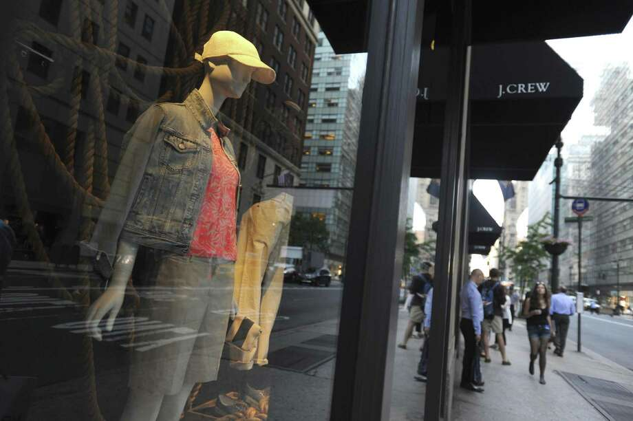 File photo of a J. Crew store in Rockefeller Center, in New York. More retailers are at risk of running out of cash or defaulting on debt now than at the peak of the last recession, according to Moody's Investors Service, and subpar holiday sales could deepen their distress. Photo: JENNIFER S. ALTMAN /New York Times / NYTNS