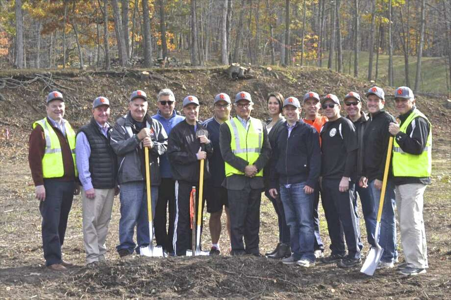 Ridgefield Little League recently broke ground on the lot off of Route 7 it will use for a new, lighted field. The League is seeking donations and business sponsors to reach its $1 million goal to build the field. Photo: Contributed Photo / The News-Times / The News-Times Contributed