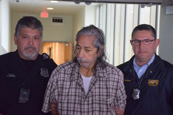 Roy Hernandez, 53, was arrested Wednesday in connection with the slaying of his former wife, whose body was found buried in his backyard in 2006.
