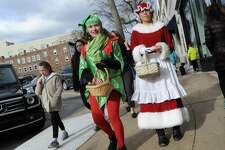 The Greenwich Holiday Stroll Weekend event in central Greenwich, Conn., Saturday, Dec. 3, 2016. The event had 125 Greenwich Merchants participating in the holiday cheer providing free samples of their products. This year's Holiday Stroll will take place on Dec. 2 and 3.