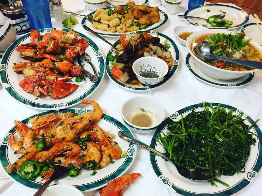 Vin Hoa Restaurant 9600 Bellaire Blvd., Ste. 126 Houston, TX 77036Demerits: 30Inspection Highlights: Observed cockroach on floor near dinning table. Provide effective measures intended to eliminate the presence of cockroaches on the premises. Citation issued.Photo: Yelp/Sarath P.  Photo: Yelp