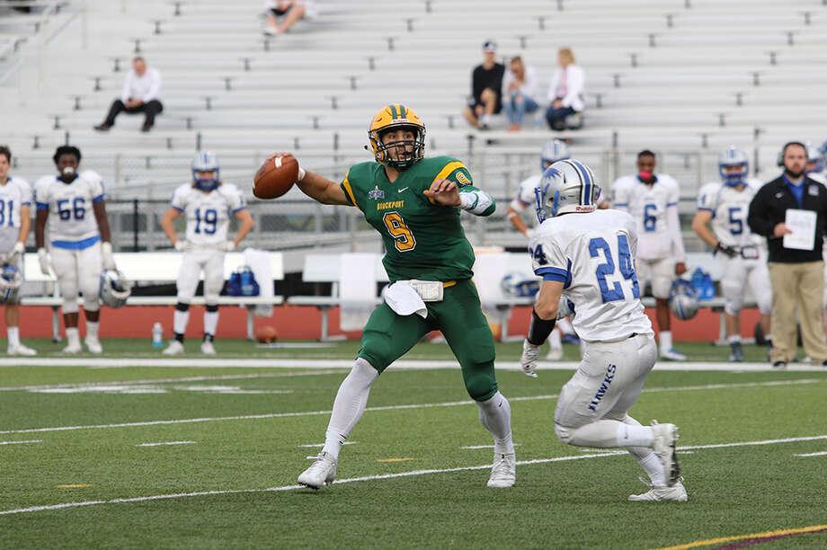 La Salle graduate Joe Germinerio of the Brockport football team. (Courtesy of Brockport Athletics)
