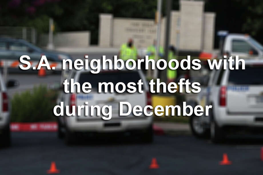 Click through the slideshow to see which zip codes had the most reported thefts in December 2016. Photo: John Davenport/San Antonio Express-News