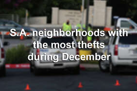 Click through the slideshow to see which zip codes had the most reported thefts in December 2016.
