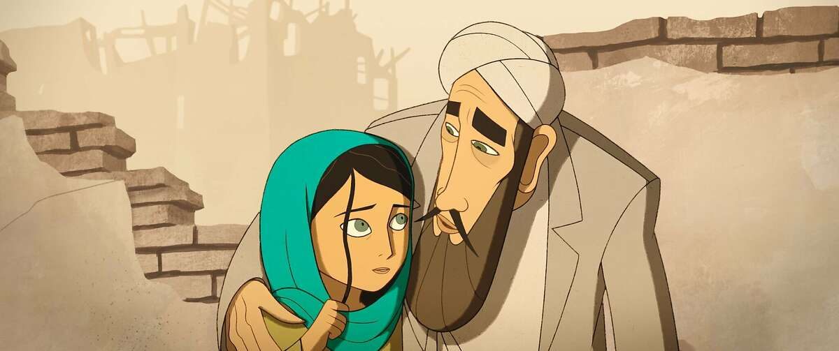 """An image from """"The Breadwinner,"""" an animated feature based on the novel by Deborah Ellis."""