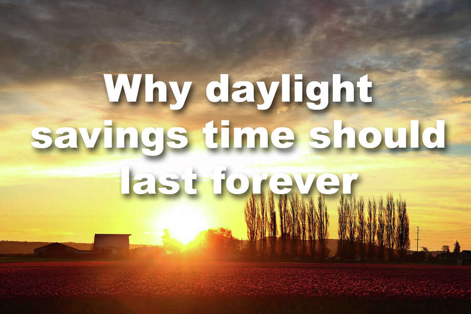Daylight saving time should be the new standard. Science says so. Here's why. Photo: GENNA MARTIN/SEATTLEPI.COM