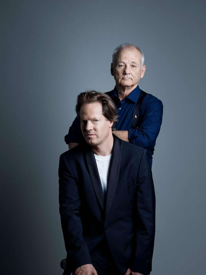 Cellist Jan Vogler (left) and comic Bill Murray will be at the Masonic. Photo: Peter Rigaud
