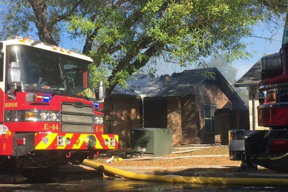More than a dozen crews are responding to a fire on San Antonio's West Side on Wednesday, Nov. 22, 2017.