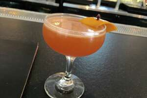The Beginner's Luck cocktail at The Pass & Provisions is made with Aguardiente de caé±a, orange, lemon, clove and bitters.