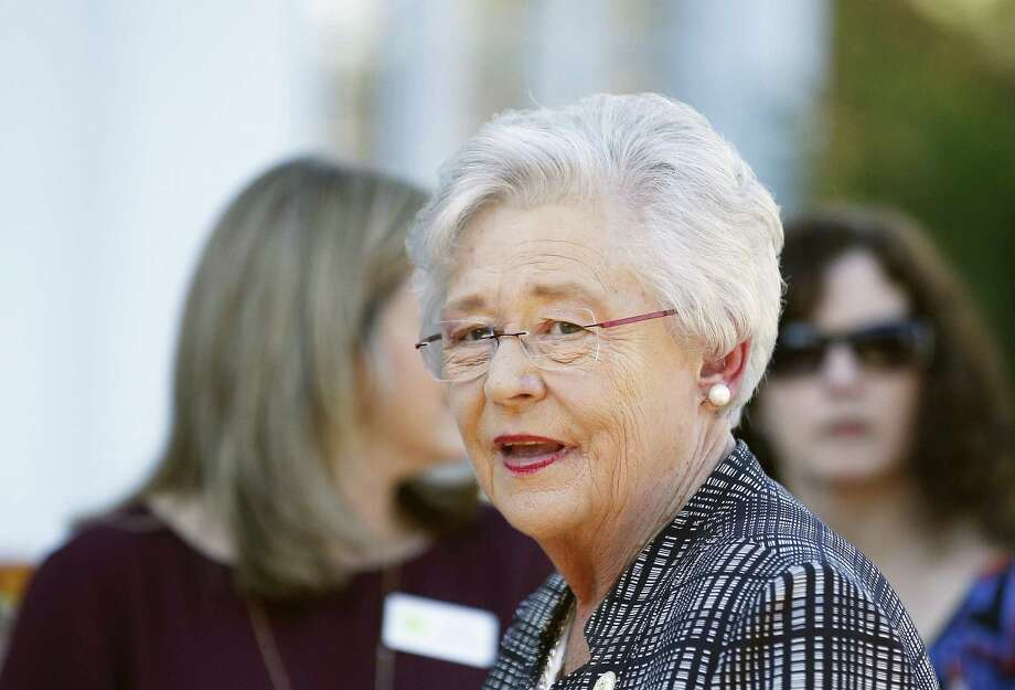 "Alabama Gov. Kay Ivey says she has ""no reason to disbelieve"" Senate candidate Roy Moore's accusers, yet will vote for mayor. Photo: Brynn Anderson /Associated Press / Copyright 2017 The Associated Press. All rights reserved."