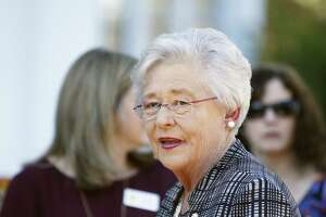 "Alabama Gov. Kay Ivey says she has ""no reason to disbelieve"" Senate candidate Roy Moore's accusers, yet will vote for mayor."