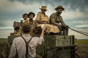 "Mary J. Blige and Rob Morgan star in Netflix's ""Mudbound."""