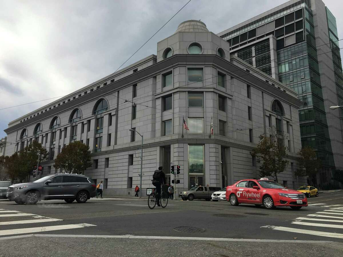 A lawsuit filed Tuesday in the San Francisco County Superior Court (pictured) accuses CleanNet USA, a business that connects individual janitors and companies with buildings to clean, of inappropriately classifying those janitors as franchise owners while treating them as employees.