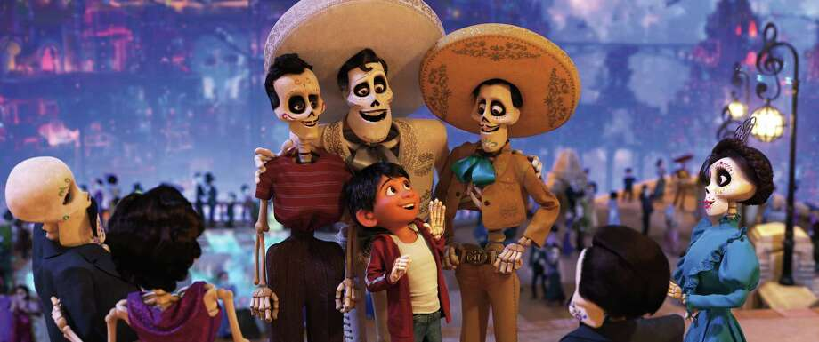 Miguel journeys through the Land of the Dead in search of his idol, Ernesto de la Cruz. Photo: Pixar / ©2017 Disney•Pixar. All Rights Reserved.