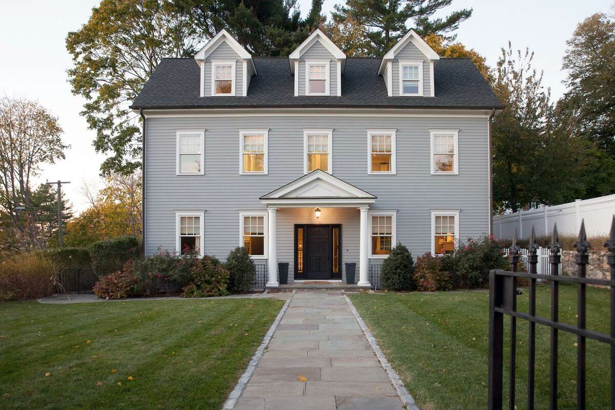 Photos from inside Jenny and William Jarvis' 4,000-square-foot Shippan colonial, which has five bedrooms and four bathrooms and was built in 2010, on Ocean Drive West in the Shippan area of Stamford, Conn.