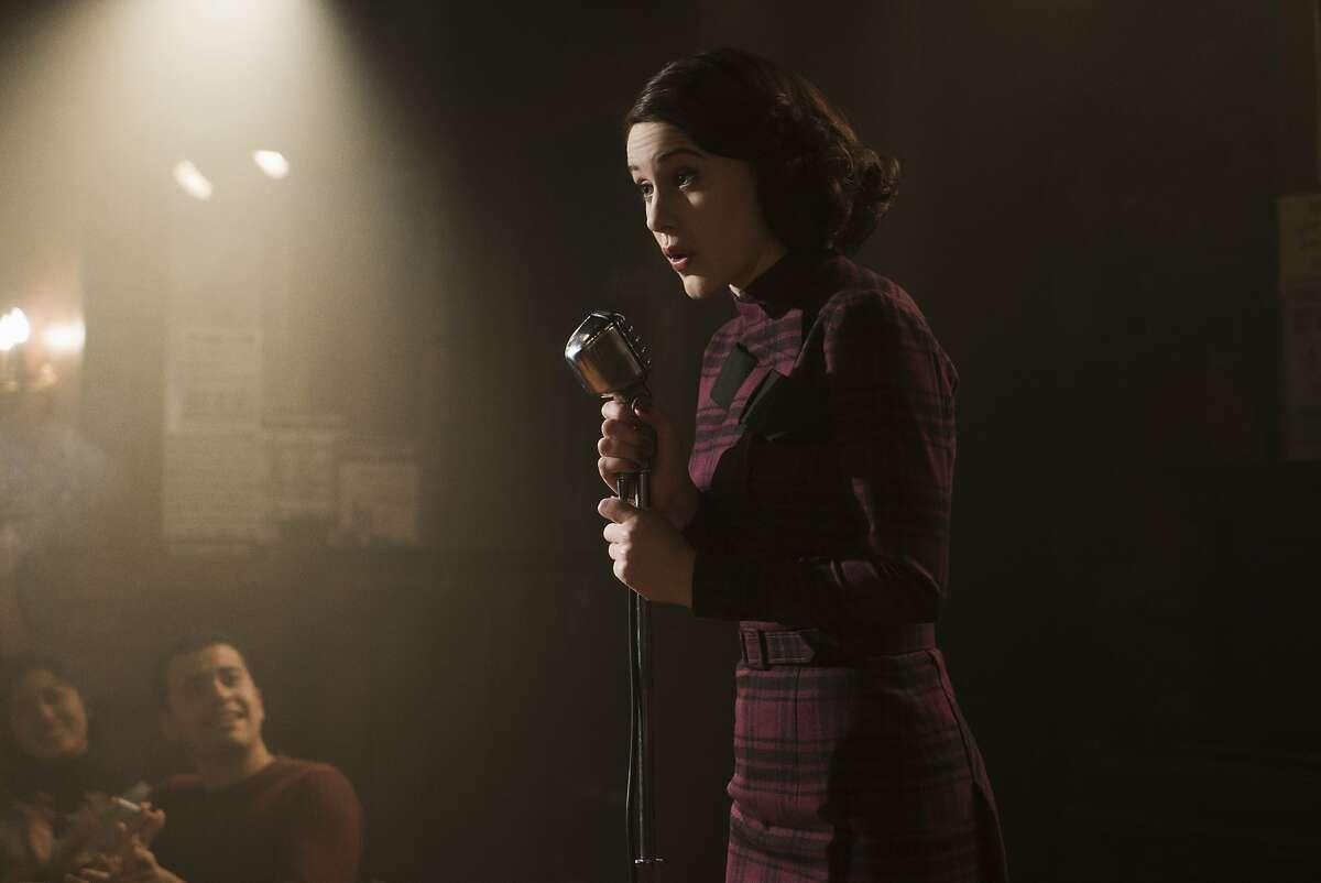 Rachel Brosnahan stars as Midge Maisel.