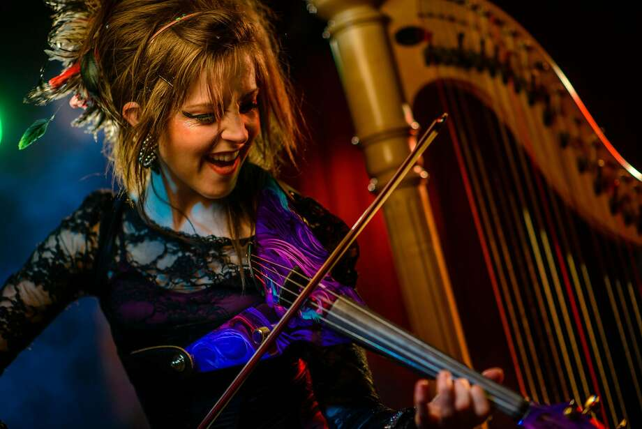 Violinist Lindsey Stirling is teaming up with Evanescence for a show at SPAC. Keep clicking for more concerts coming soon. Photo: Contributed Photo