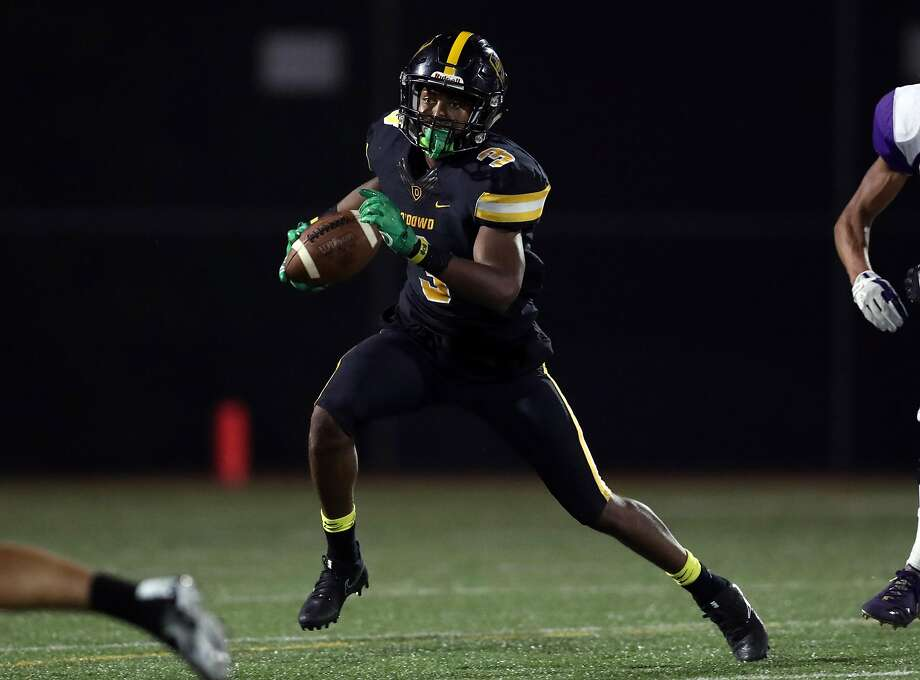 Jevon Holland, who is committed to USC, has been a two-way standout for Bishop O'Dowd-Oakland. Photo: Darren Yamashita, MaxPreps