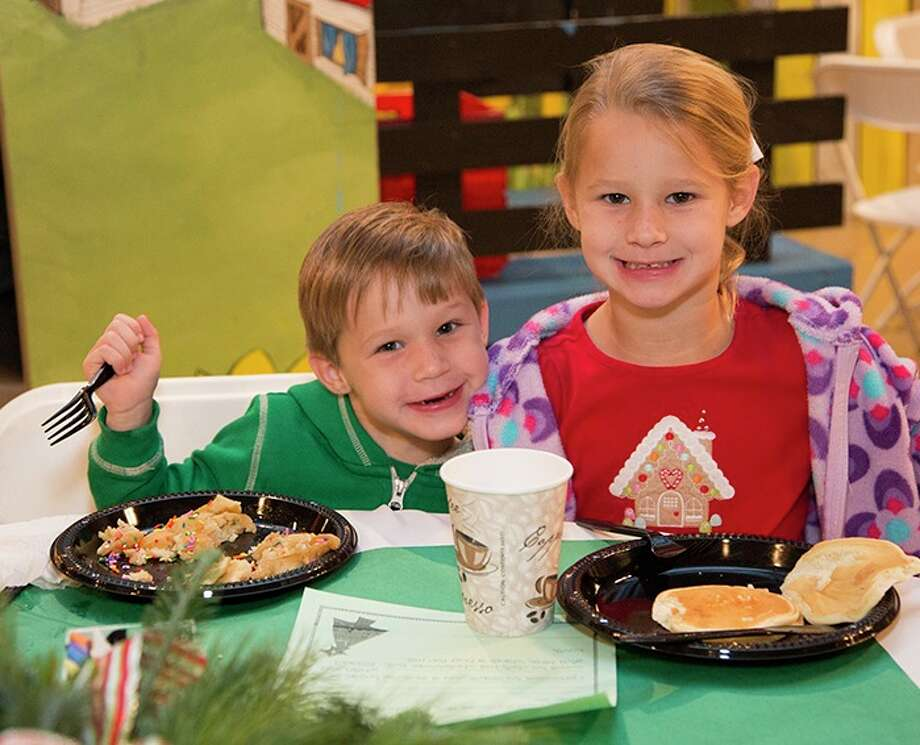 Pancakes with Santa at  The Woodlands Childrenés Museum will be Sat. Dec. 9 from 8-11 a.m. Children can enjoy a tasty breakfast and take pictures with jolly St. Nick. Photo: Courtesy Photo