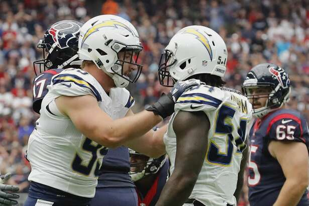 Joey Bosa (left, No. 99) and Melvin Ingram (right, No. 54) lead a Los Angeles Defense that is second in the league with 30 sacks.Thing you could say: Ingram and Bosa are going to be living in Dallas' backfield if they don't get the run game going early.