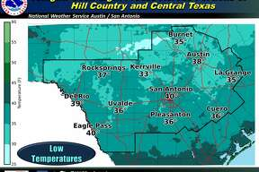 Bring freeze sensitive plants inside Wednesday, the NWS warns.