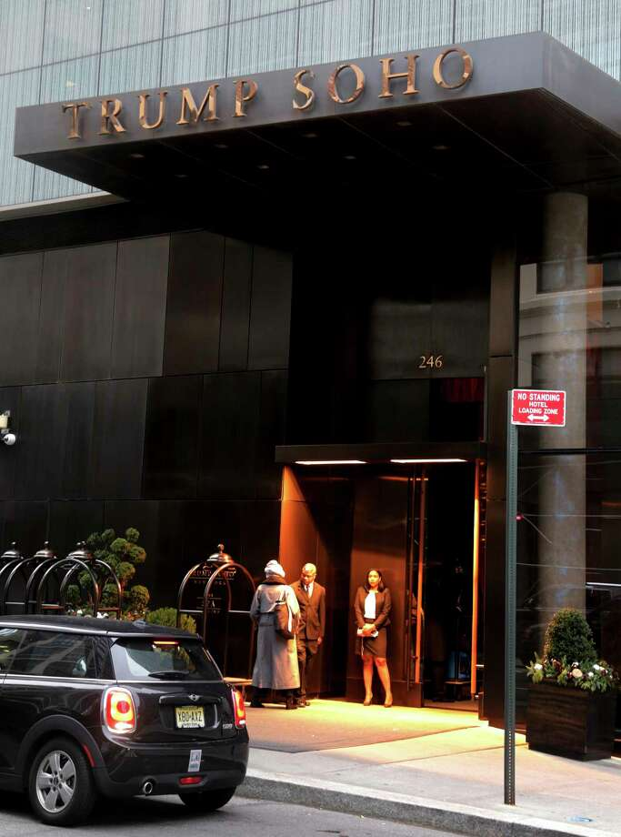 The Trump Organization doesn't actually own the Trump SoHo in New York. Photo: Seth Wenig, STF / Copyright 2016 The Associated Press. All rights reserved.