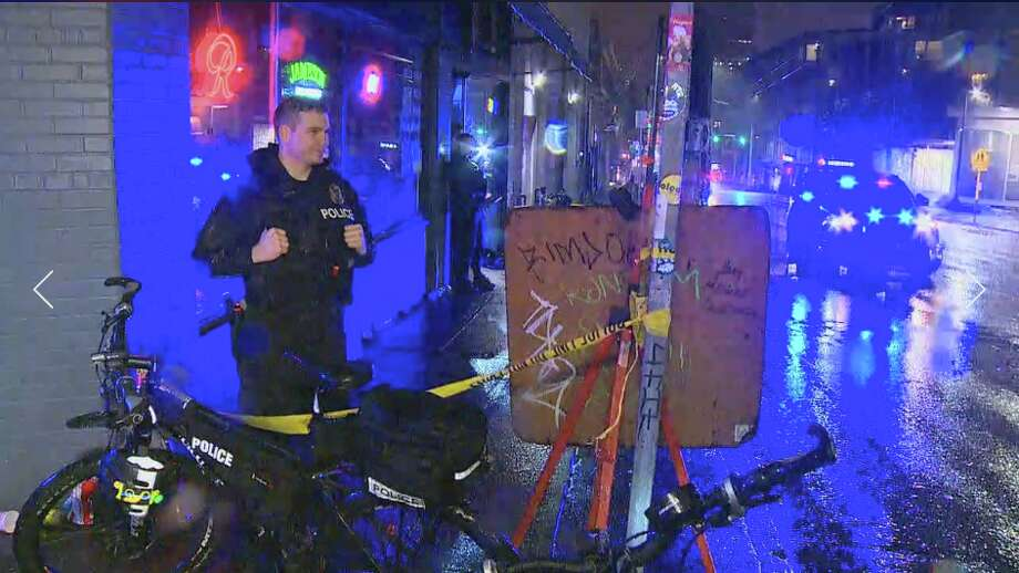 One person was injured Wednesday night when shots were fired inside a Capitol Hill nightclub. Photo: KOMO
