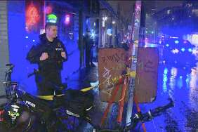 One person was injured Wednesday night when shots were fired inside a Capitol Hill nightclub.