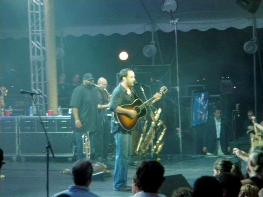 The Dave Matthews Band during a charity concert in Belle Haven Saturday, June 26, 2010. Photo: Contributed Photo / Greenwich Time Contributed