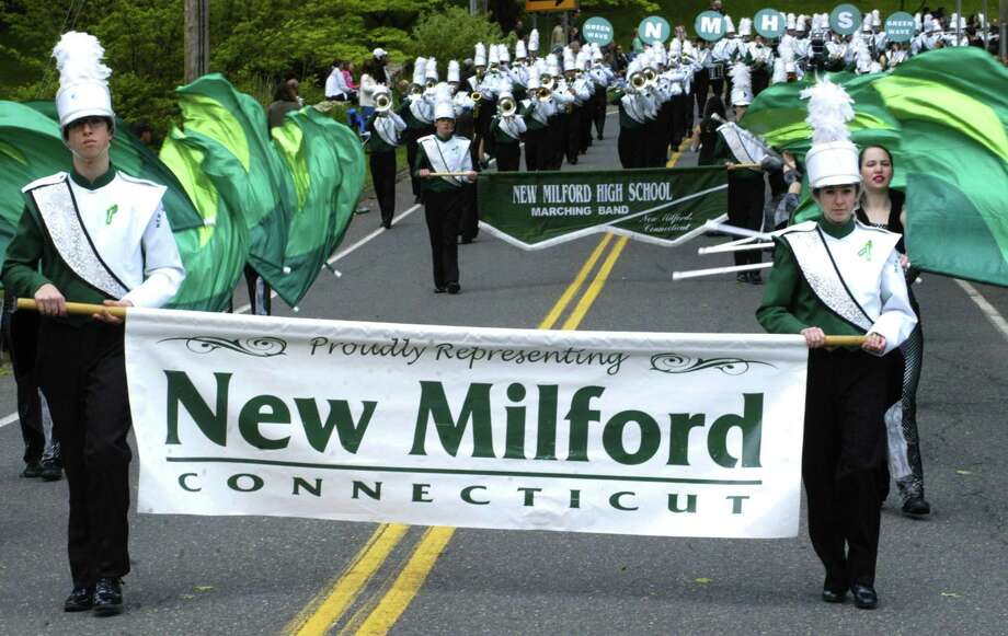 File photo of the New Milford Marching Band Photo: Norm Cummings / Norm Cummings / The News-Times