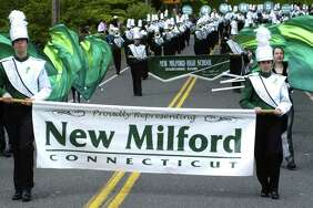File photo of the New Milford Marching Band
