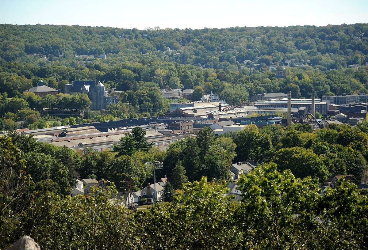 The Ansonia Copper and Brass property in Ansonia, Conn. on Thursday, September 28, 2017,. Sacred Heart university students will be working with the city to develop a master plan for the site.