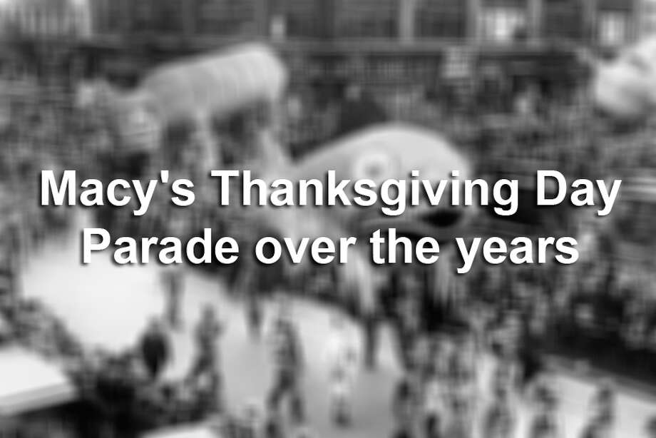 Here's a look back at moments from the iconic parade, known for its giant balloons. Photo: Underwood Archives