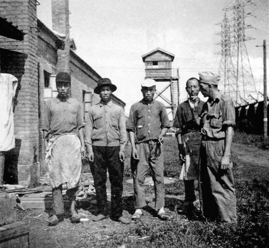 After the liberation of the Mukden POW Camp in Manchuria in August 1945, a group of Chinese chefs came in to cook for the surviving 1,300 Allied prisoners. Photo: Site Musem Of Shenyang Camp Of WWII Allied Forces, China