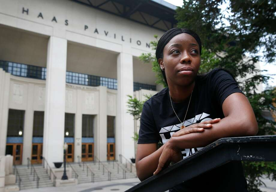 Tierra Rogers earned a scholarship to play basketball at Cal, but a heart condition ended her career. Photo: Paul Chinn, The Chronicle